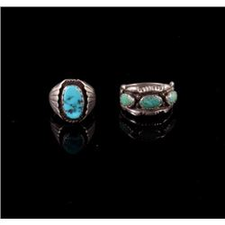Navajo Old Pawn Sterling Silver Rings