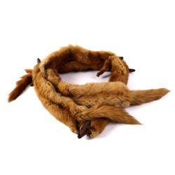 Brill's Genuine Mink Pelt Stole