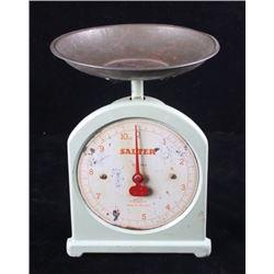 Antique Salter's Brass Scale No. 34
