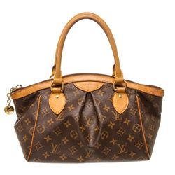 Louis Vuitton Monogram Canvas Leather Tivoli PM Bag