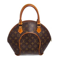 Louis Vuitton Monogram Canvas Leather Ellipse PM Bag