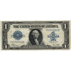 1923 $1 XF Silver Certificate Currency