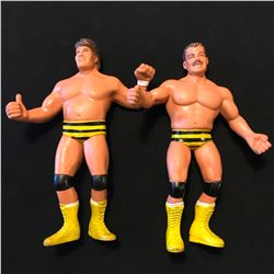 "LJN 8"" WRESTLING FIGURES ""KILLER BEES"""