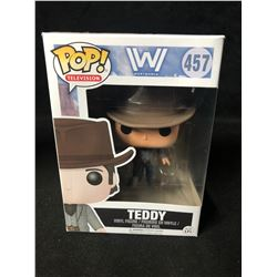 "POP! FUNKO VINYL FIGURE ""WESTWORLD"" TEDDY #457"