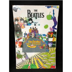 "THE BEATLES ""YELLOW SUBMARINE"" 24X36 CARDBOARD POSTER"