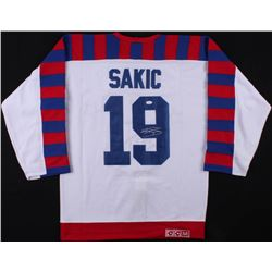 JOE SAKIC SIGNED NHL ALL-STAR JERSEY (JSA COA)