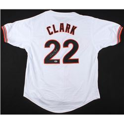 Will Clark Signed San Francisco Giants Jersey (Beckett COA)