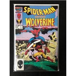 SPIDER-MAN VS. WOLVERINE #1 (MARVEL 25TH)