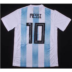 "Lionel Messi Signed Argentina Adidas Jersey Inscribed ""Leo"" (Beckett COA)"