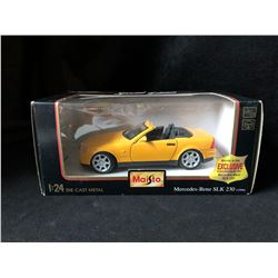 MAISTO 1:24 DIE-CAST METAL MERCEDES-BENZ SLK 230 (1996)