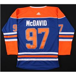 Connor McDavid Signed Authentic Oilers Captain Jersey (BECKETT COA)
