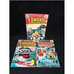 KAMANDI COMIC BOOK LOT (DC COMICS)