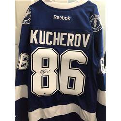 Nikita Kucherov Signed Lightning Jersey