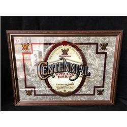 Anheuser Busch 1996 Michelob Centennial Special Brew Bar Back Mirror Framed (RARE)