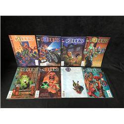 GODDESS COMIC BOOK LOT (DC COMICS)