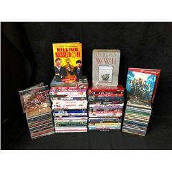 DVD'S / CD'S LOT
