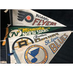 NHL HOCKEY PENANTS LOT