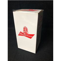 Budweiser Goal Synced Red Light Glass Limited Edition