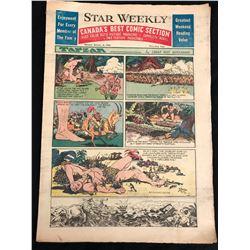 VINTAGE 1951 STAR WEEKLY NEWSPAPER