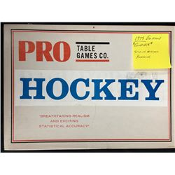 1979 TABLE GAMES CO. PRO HOCKEY GAME