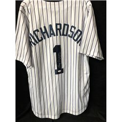 "Bobby Richardson Signed Yankees Jersey Inscribed ""60 WS MVP"" (JSA COA)"