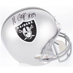 Amari Cooper Signed Raiders Full-Size Helmet (JSA COA)