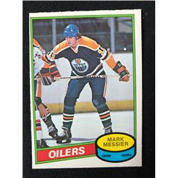 1980 OPC #289 Mark Messier Rookie Card