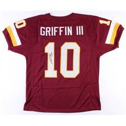 Robert Griffin III Signed Washington Redskins Jersey (JSA COA)