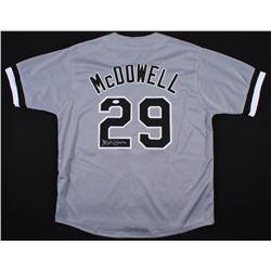 Jack McDowell Signed White Sox Jersey (JSA COA)