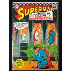 SUPERMAN #195 (DC COMICS)