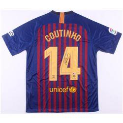 Philippe Coutinho Signed FC Barcelona Nike Jersey (Beckett COA)