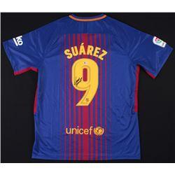 Luis Suarez Signed FC Barcelona Nike Jersey (Beckett COA)