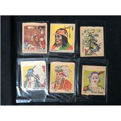 1930'S NON SPORTS CIGARETTE CARDS LOT
