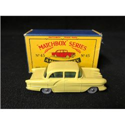 VINTAGE LESNEY MATCHBOX SERIES #45 VAUXHALL VICTOR WITH ORIGINAL BOX