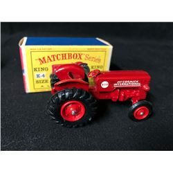 Matchbox K-4 McCormick International Tractor