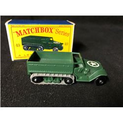 Lesney #49 M3 Personnel Carrier Matchbox Series (Made in England)