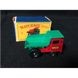 LESNEY MATCHBOX SERIES #2 MUIR HILL DUMPER TRUCK
