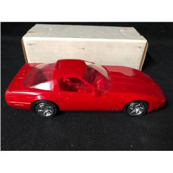 ERTL 1990 CORVETTE ZR-1 (BRIGHT RED) #6034