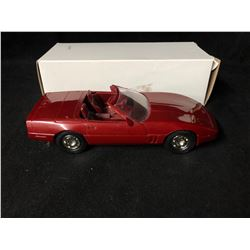 ERTL 1988 CORVETTE ROADSTER (DARK RED)