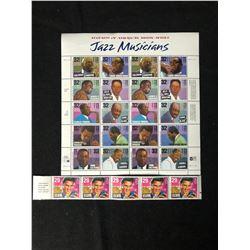 1994 Jazz Musicians/ Elvis Presley U.S Postage Stamps