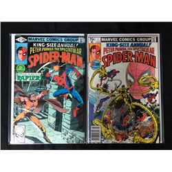 KING-SIZE ANNUAL SPIDER-MAN COMIC BOOK LOT