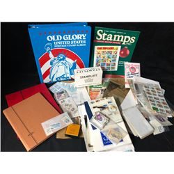 STAMPS/ STAMP ALBUMS LOT
