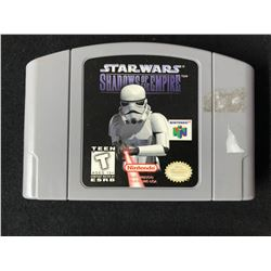 NINTENDO 64 STAR WARS SHADOWS OF THE EMPIRE VIDEO GAME