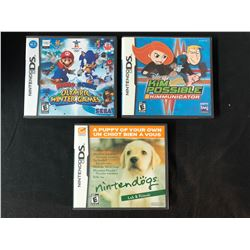 NINTENDO DS VIDEO GAME LOT