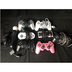 VIDEO GAME CONTROLLERS LOT