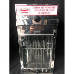 VINTAGE GLENRAY MODEL 56 HOTDOG MACHINE W/ BUN WARMER