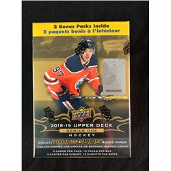 2018-19 Upper Deck Series 1 Nhl Hockey Trading Cards 12 Pack Blaster