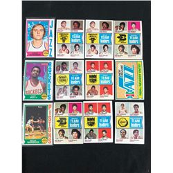 VINTAGE BASKETBALL CARD LOT