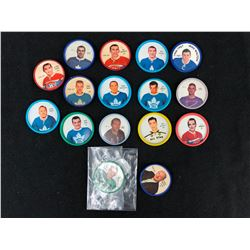 1960'S SHIRRIFF HOCKEY COIN LOT