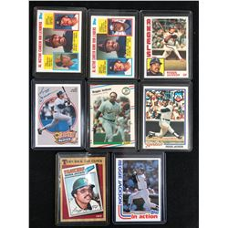 REGGIE JACKSON BASEBALL CARD LOT
